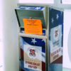 Photo of an official ballot drop box