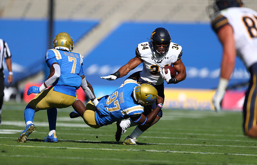 Photo of Christopher Brown at the Cal vs. UCLA football game