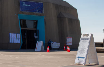Photo of The Lawrence voting center