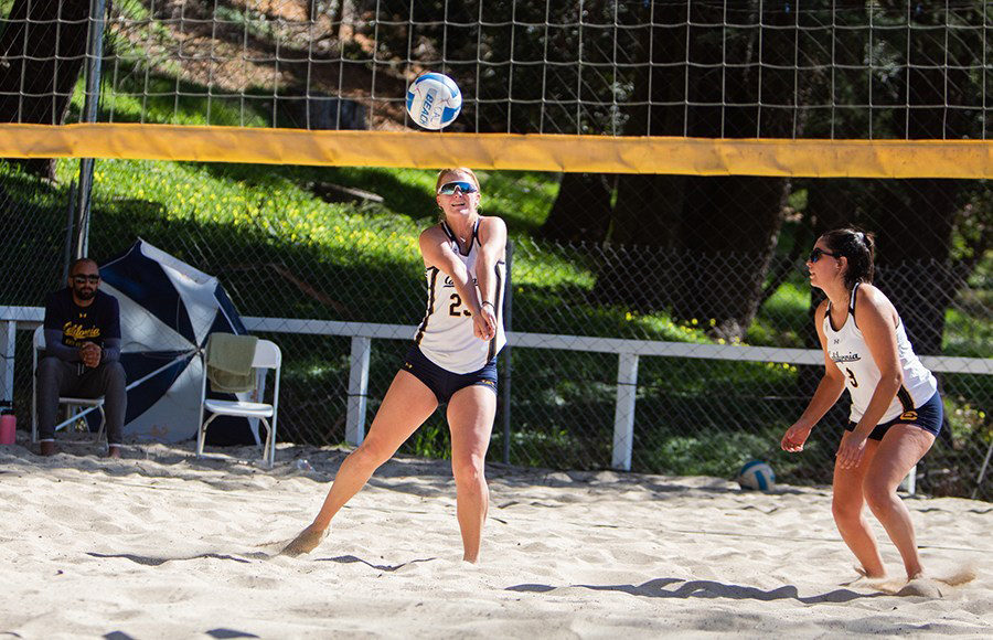 Photo of Cal Women's Beach Volleyball