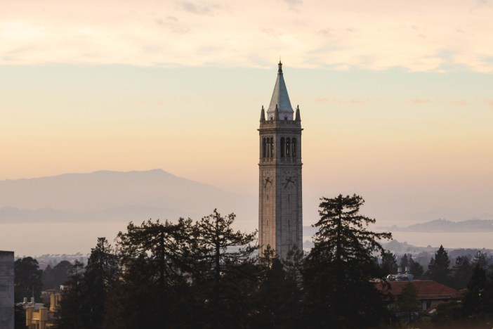 Photo of the Campanile against a pretty sky