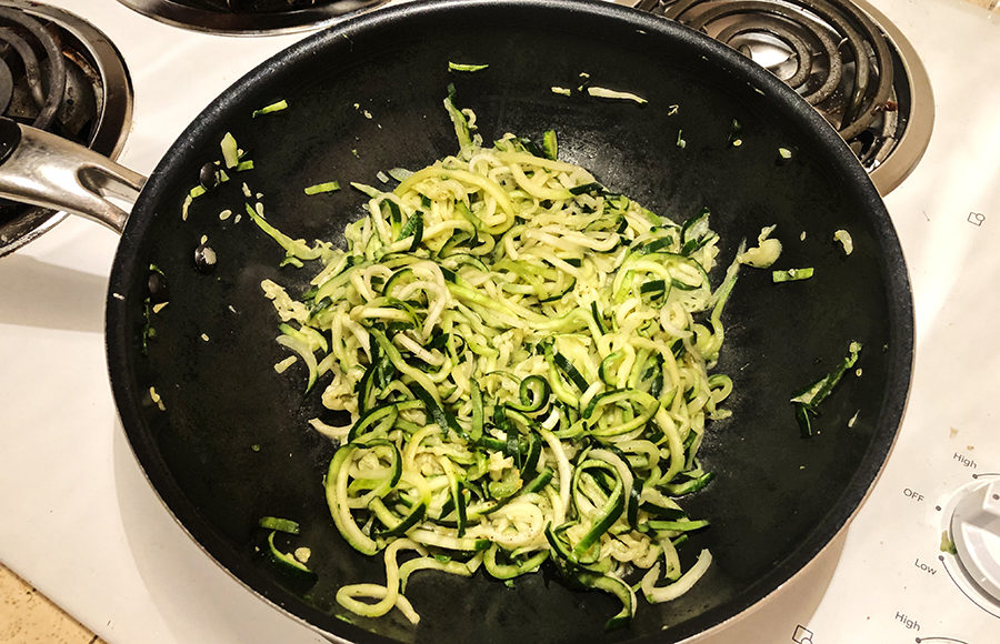 Photo of zoodles