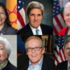 Photo of Deb Haaland, John Kerry, Gina McCarthy, Janet Yellen, Michael McCabe, Tom Vilsack