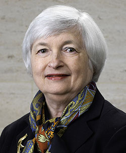 Photo of Janet Yellen