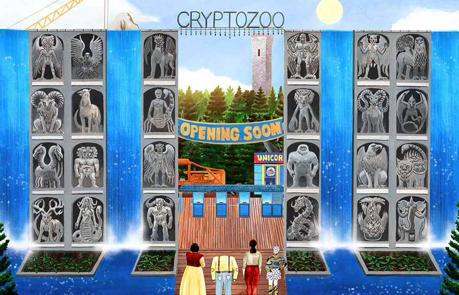 """Still from the film, """"Cryptozoo"""""""