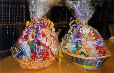 Photo of gift baskets