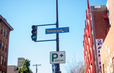 Image of Telegraph Ave street sign
