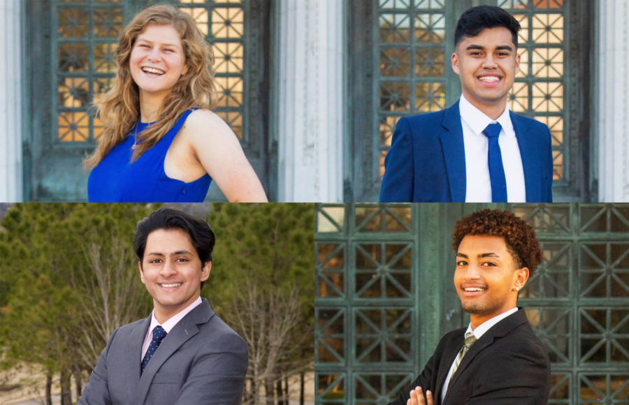 Photo of Student Action candidates