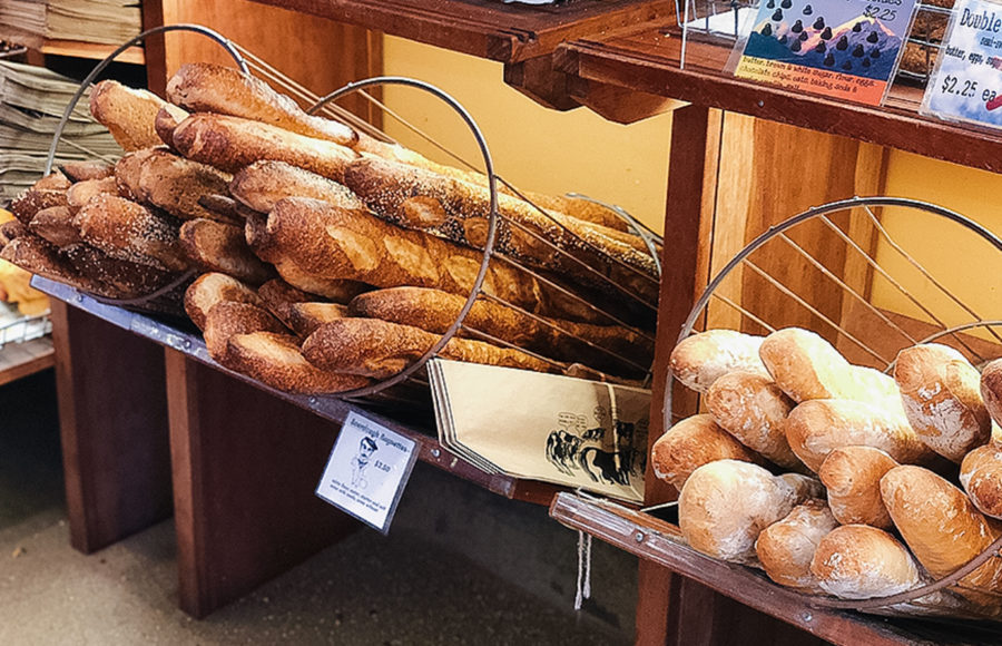 Image of various breads