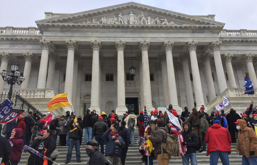 Photo of Capitol storming