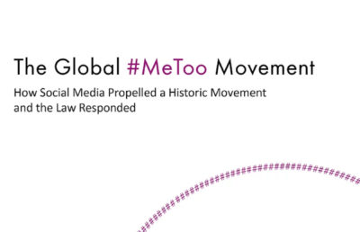 "Photo ""The Global #MeToo Movement"" book"