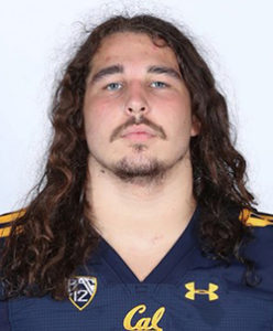 Photo of Cal Football Player, Brett Johnson
