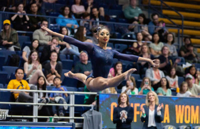 Photo of Kyana George of Cal Women's Gymnastics