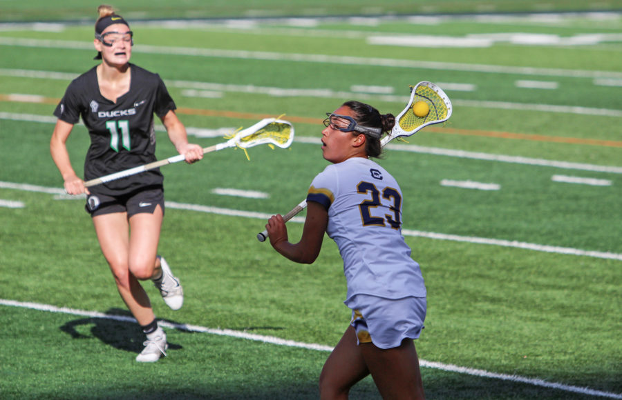 Photo of Cal Women's Lacrosse player