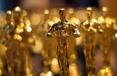 Photo of an Oscar Trophy