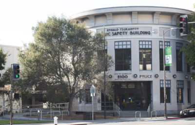 Photo of Berkeley Police Building