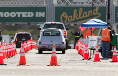 Photo of Oakland Coliseum Vaccination Site