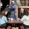 """Photo of """"American Insurrection"""" filming"""