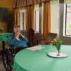 Image of woman in nursing home