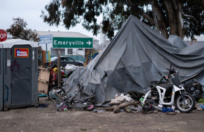 Photo of Ashby/Shellmound encampment