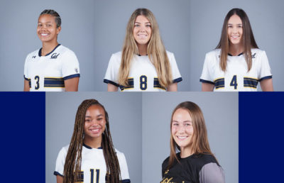 Photo of Cal Women's Soccer players