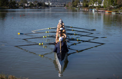 Photo of rowing crew
