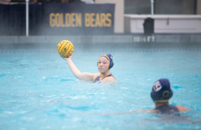 photo of Berkeley women's water polo players