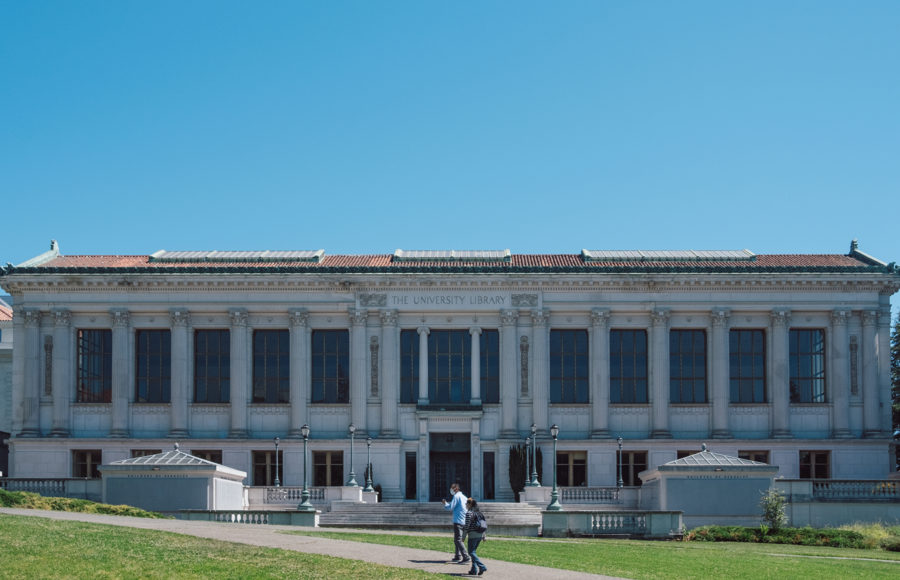 Photo of Doe Library