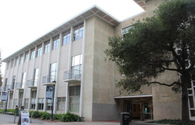 photo of the outside of the Kroeber Hall building
