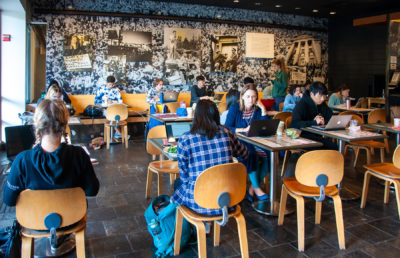 photo of the inside of Free Speech Movement Cafe