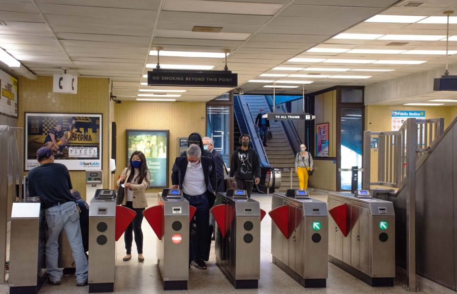 Photo of BART entrance/exit