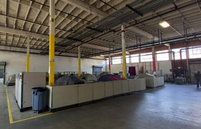 Photo of the shelter on Grayson Street