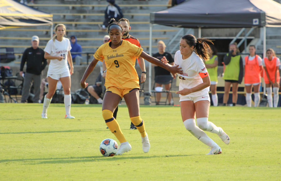 photo of Cal Women's soccer player