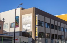 photo of the career center building