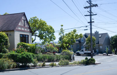 photo of houses in the city of Berkeley