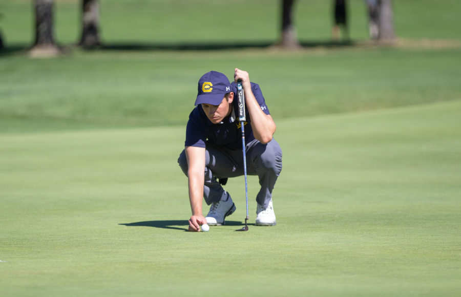 Photo of a golfer on the Cal men's golf team