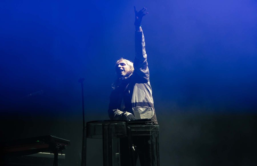 Photo of Porter Robinson at the Second Sky Music Festival
