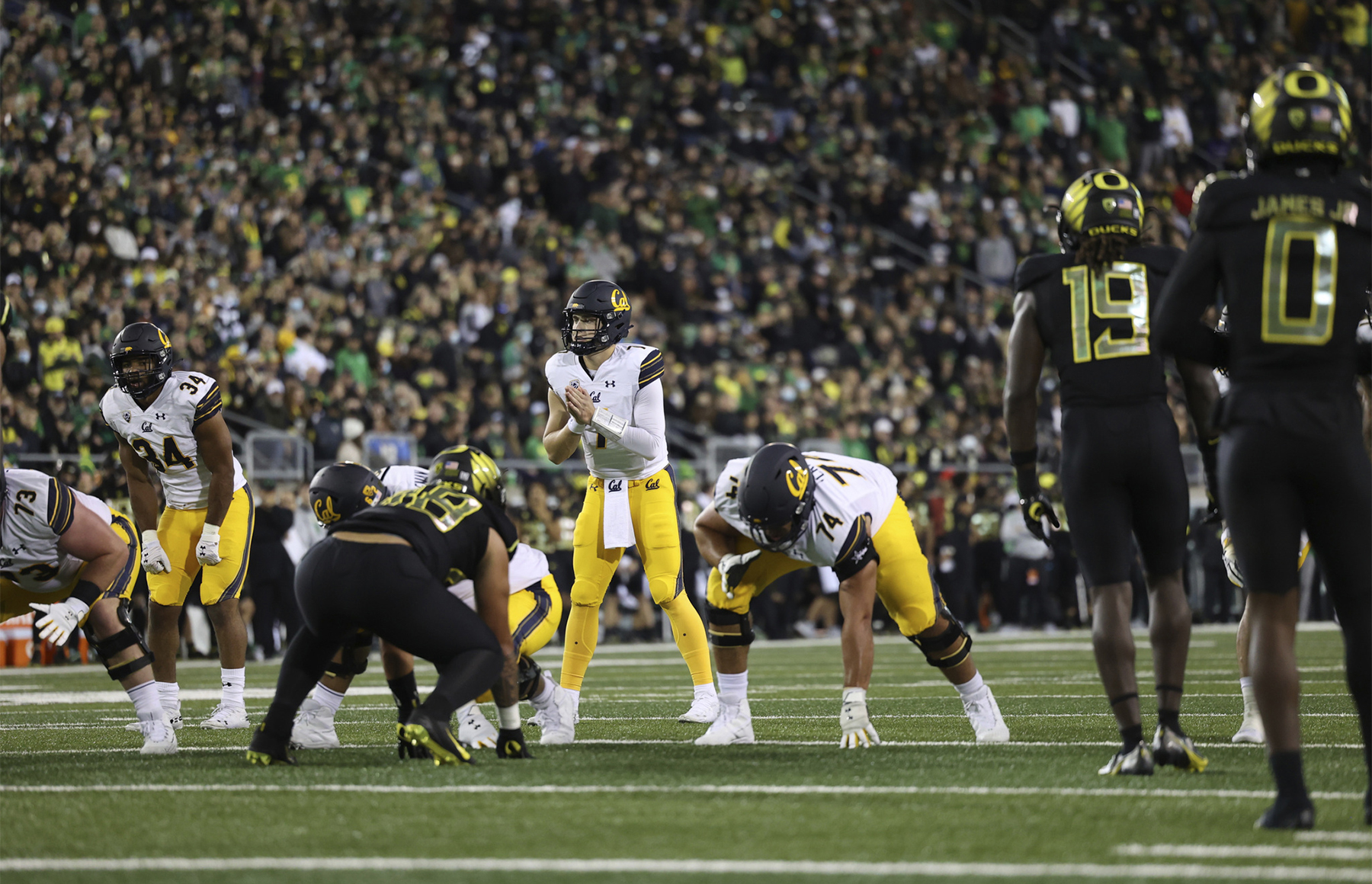 That dark night: Cal scares No. 9 Oregon but comes up short