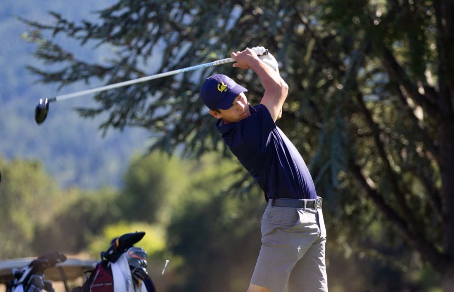 Photo of James Song of Cal Men's Golf