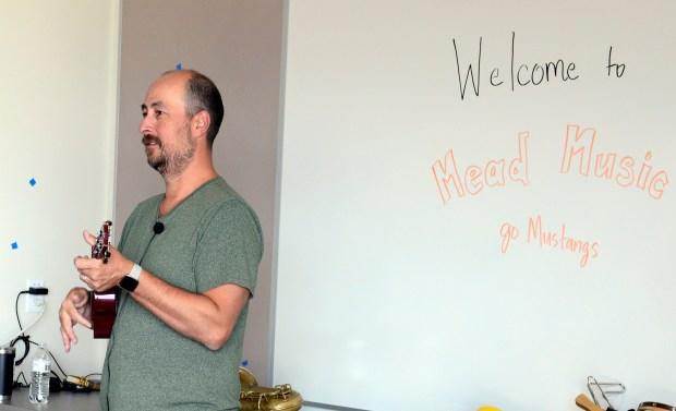 Mead Elementary School music teacher, Greg ...