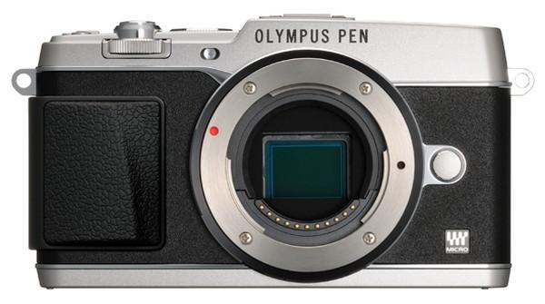 Olympus-PEN-E-P5-camera-silver