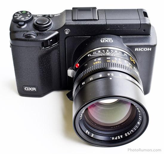 Ricoh-GXR-camera