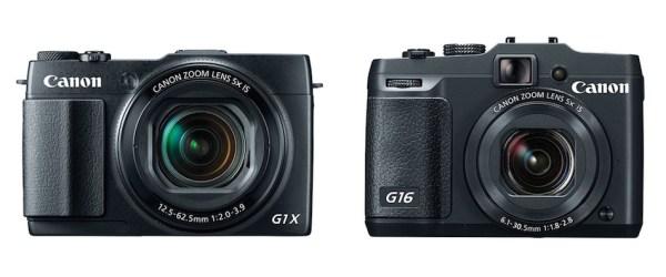 canon G1 X Mark II vs G16