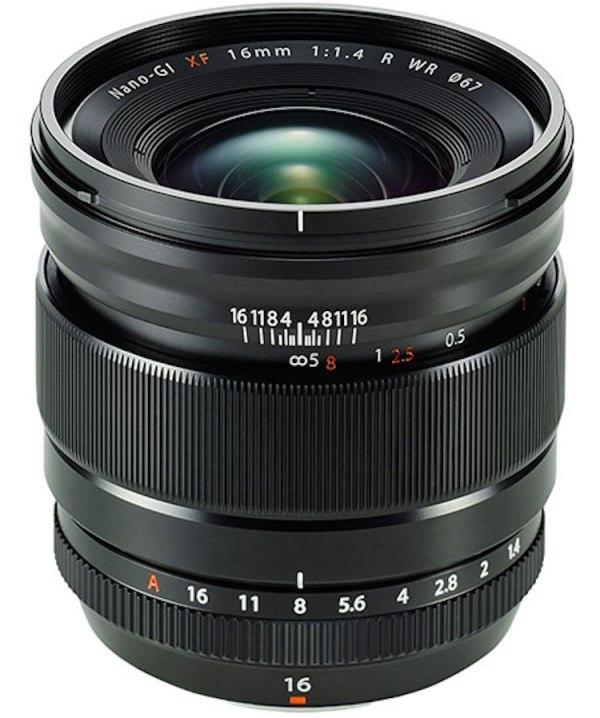 Fujifilm-Fujinon-XF-16mm-f1.4-R-WR-lens