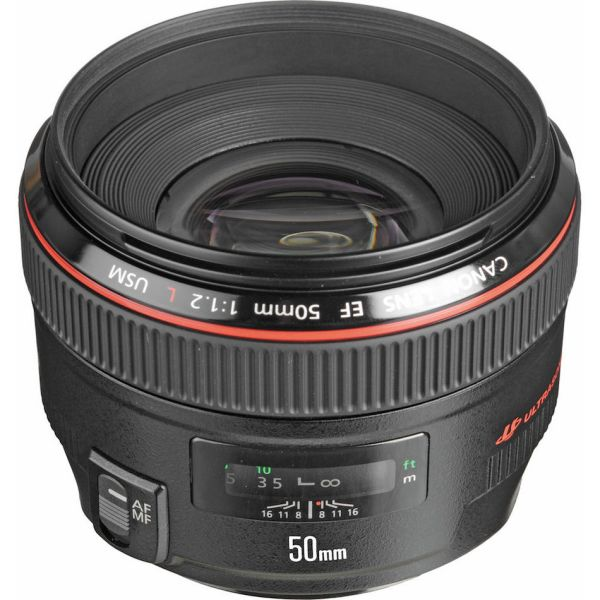 EF 50mm f/1.4L IS & EF 50mm f/1.2L II to Come Along with Canon Full Frame Mirrorless Camera
