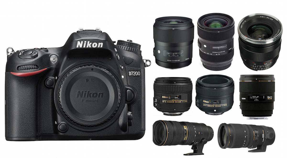 Best Nikon D7200 Lenses