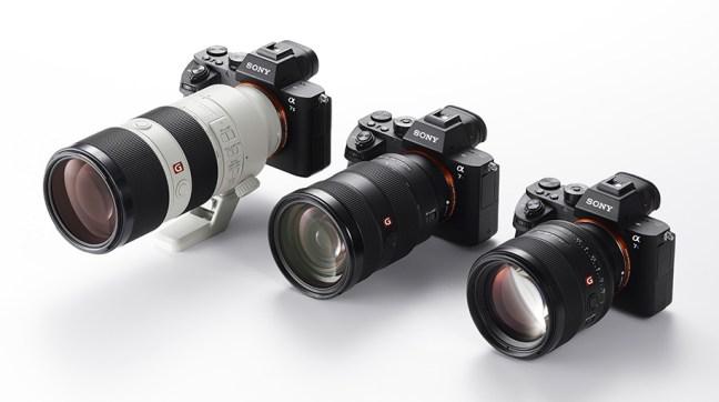 Sony-G-master-interchangeable-lenses
