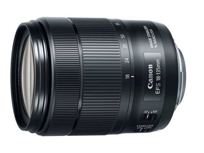 Canon EF-S 18-135mm F3.5-5.6 IS USM Lens Announced with Power Zoom Adapter