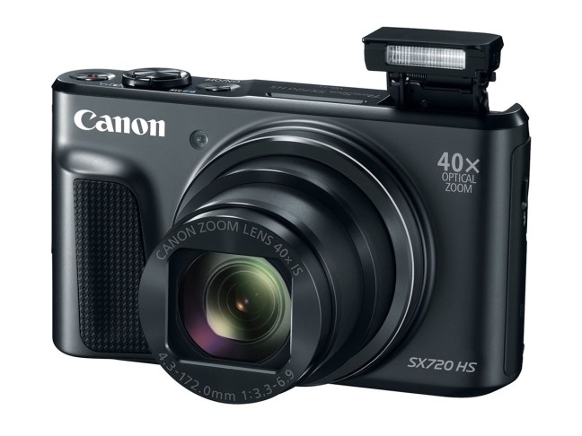 Canon PowerShot SX720 HS Announced with a New 40x Zoom Lens
