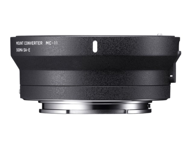 Sigma MC-11 Lens Adapter Firmware Ver. 1.09 Released
